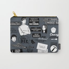 Horrible's Quotes Carry-All Pouch