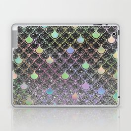 Mermaid scales ombre glitter #2 Laptop & iPad Skin
