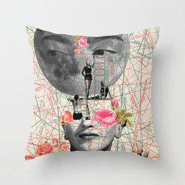my muse (Frida Kahlo) Throw Pillow