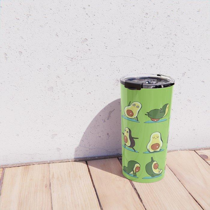 Avocado Yoga Travel Mug