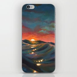 Before The Night Storm iPhone Skin