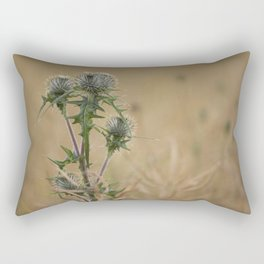 Spear Thistle Rectangular Pillow