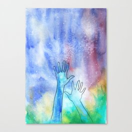 Nebulous Canvas Print
