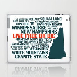 New Hampshire Live Free or Die Laptop & iPad Skin