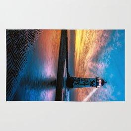 Light House Sunset Rug