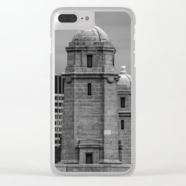 Salt and Pepper Clear iPhone Case