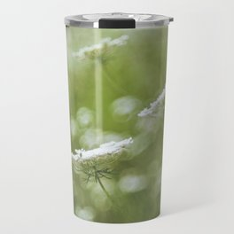 Wild carrot flowers Travel Mug