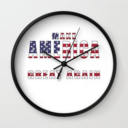 Make America Great Again Wall Clock