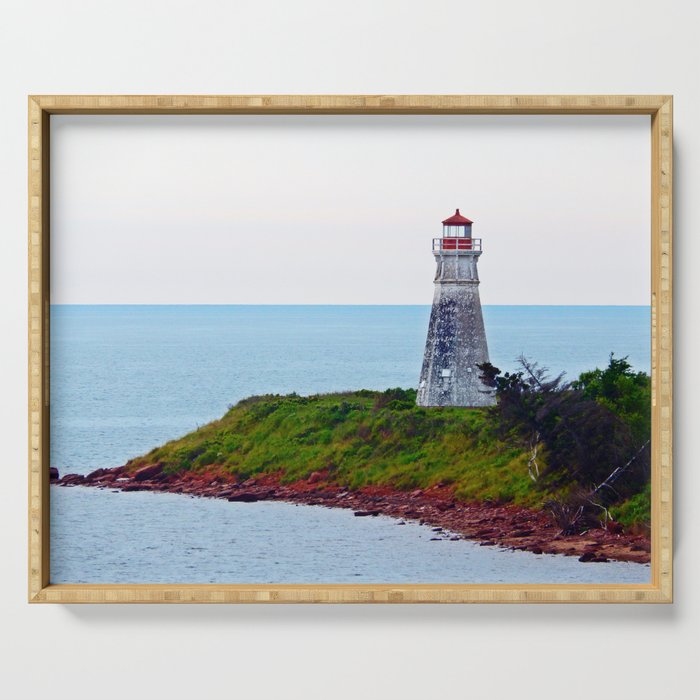 Lighthouse Cape Jourimain N-B Serving Tray