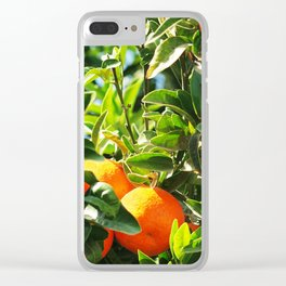 tangerine Clear iPhone Case