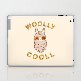 Woolly Cooll Cute Llama Pun Laptop & iPad Skin