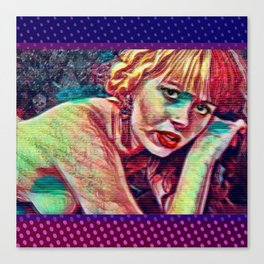 Morte Di Tachygraphy Canvas Print