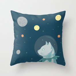 Dreaming about Space Throw Pillow