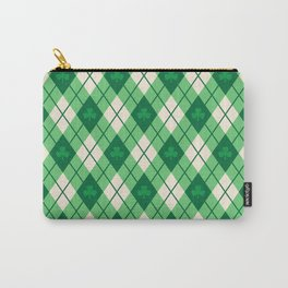 Irish Argyle Carry-All Pouch