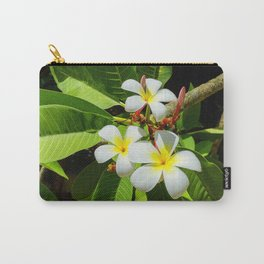 Enchanting Frangipani Carry-All Pouch