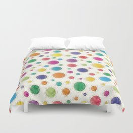 Here Comes The Early Summer Holidays Duvet Cover