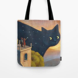 Eyes of the night Tote Bag