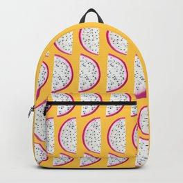 Dragon Fruit Summer Vibes Pattern #3 #fruity #decor #art #society6 Backpack
