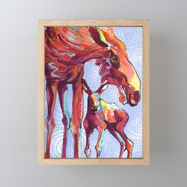 AK Goddess Framed Mini Art Print