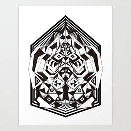"""N3O """"Sacred Geometry 1""""  Art Print"""
