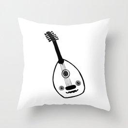 Oud Mood Throw Pillow