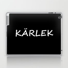 Kärlek, Swedish Love Laptop & iPad Skin