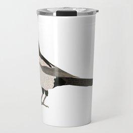 Newspaper Magpie Travel Mug