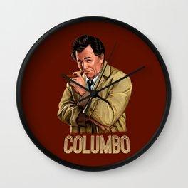 Columbo - TV Series Wall Clock
