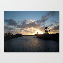 HAWAII KAI SUNSET #4 Canvas Print
