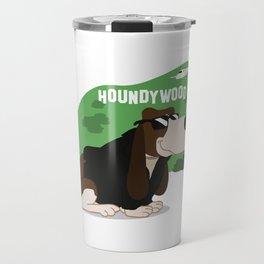 Hollywood Basset Hound Travel Mug
