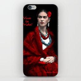 FRIDA AMOR iPhone Skin