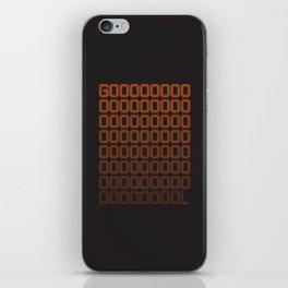 Gol iPhone Skin
