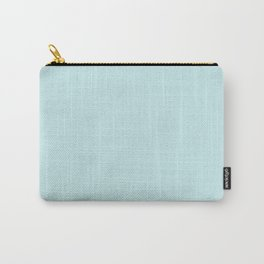 Classic Duck Egg Pale Aqua Blue Carry-All Pouch