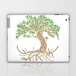 Rope Tree of Life. Rope Dojo 2017 white background Laptop & iPad Skin