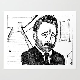 Guilt of Conscience Art Print
