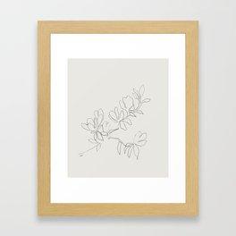Floral Study no. 4 Framed Art Print