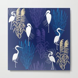 Herons Metal Print