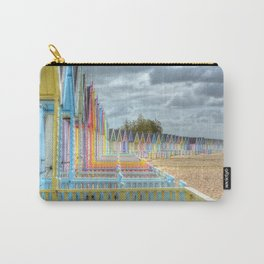 Beach Huts - Waiting for Summer Carry-All Pouch