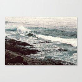 Cyan Sea #2 Canvas Print