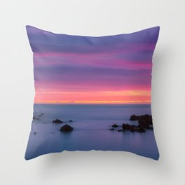 Baily Lighthouse in Purple - Ireland (RR194) Throw Pillow