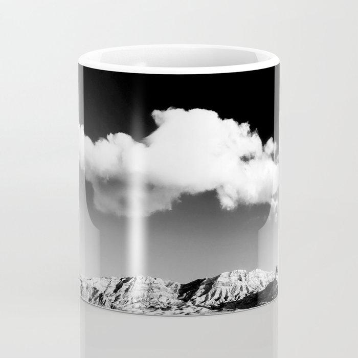 Black Sky Desert Landscape // Red Rock Canyon Las Vegas Nevada Mojave Mountain Range Coffee Mug