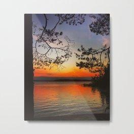 Evening view Metal Print