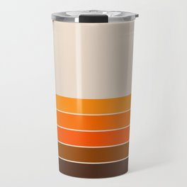 Golden Spring Stripes Travel Mug