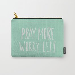Pray More x Mint Carry-All Pouch