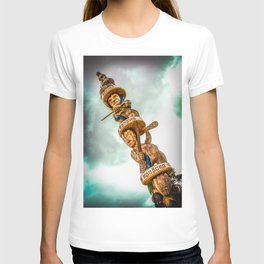 Maori Totem Pole T-shirt