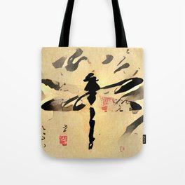 Asian Dragonfly Tote Bag
