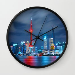 Shangai, China Wall Clock