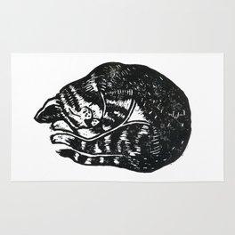 Sleeping Cat - Lino Rug