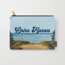 Lake Huron Retro Carry-All Pouch