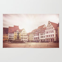 Freiberg, Germany Town Square Rug